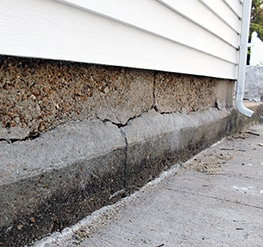Cracked Foundation Structure